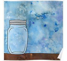 Simple Mason Jar Poster