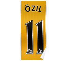 ozil 11 Poster