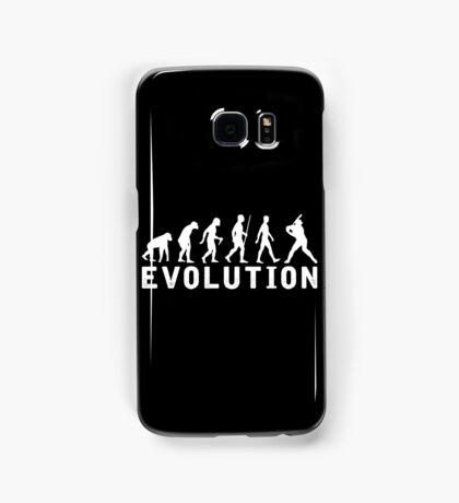 Baseball Evolution Samsung Galaxy Case/Skin