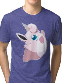 #40 - Wigglytuff Tri-blend T-Shirt
