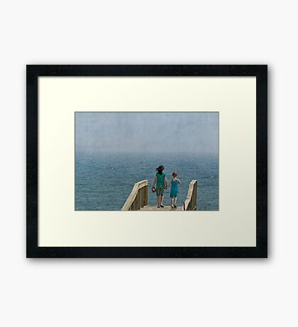 Making Life Simple Framed Print