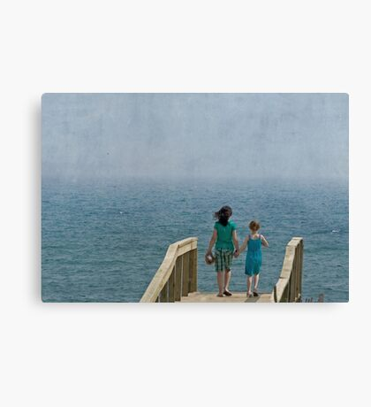 Making Life Simple Canvas Print