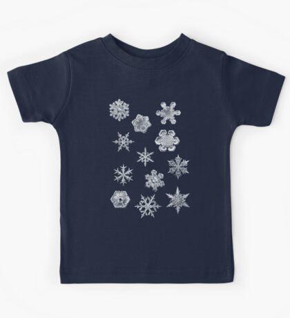 Winter Snowflakes Kids Tee