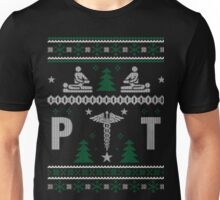 Physical therapist pt ugly christmas sweater xmas Unisex T-Shirt