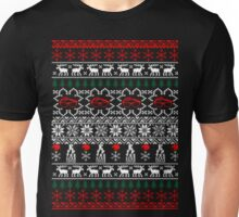 Optician ophthalmologist ugly christmas sweater Unisex T-Shirt