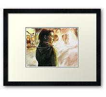 The Girl Who Played With Fire Framed Print