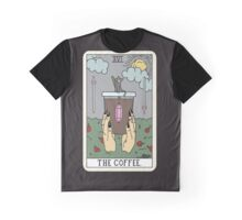 (Black) Coffee Reading Graphic T-Shirt