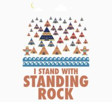 I Stand With Standing Rock One Piece - Long Sleeve