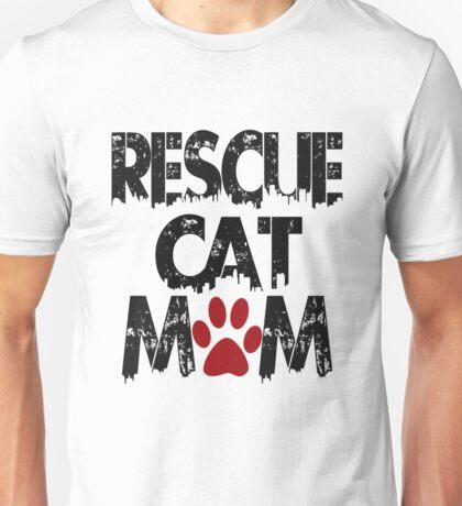 Rescue Cat Mom Unisex T-Shirt