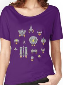 Pixel spaceships Women's Relaxed Fit T-Shirt