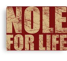 Nole for Life Canvas Print