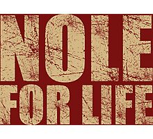 Nole for Life Photographic Print
