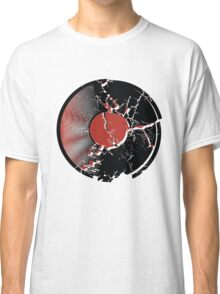 Music Vinyl Record Explosion Comic Style Classic T-Shirt