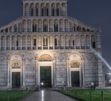 Exteriors and architectural details of Pisa cathedral in Pisa Italy Sticker