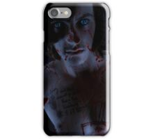 A touch of horror iPhone Case/Skin