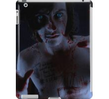 A touch of horror iPad Case/Skin