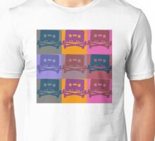 Music Tape Cassette Pirate Pop Art Unisex T-Shirt