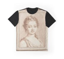 Bust of a young girl, Louis Marin Bonnet Graphic T-Shirt
