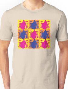 Pop Art Drummer Unisex T-Shirt