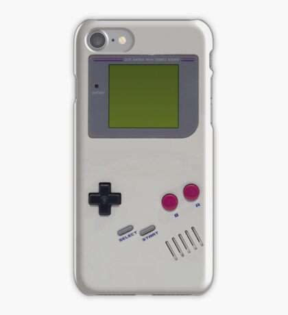 Gameboy cover iPhone Case/Skin