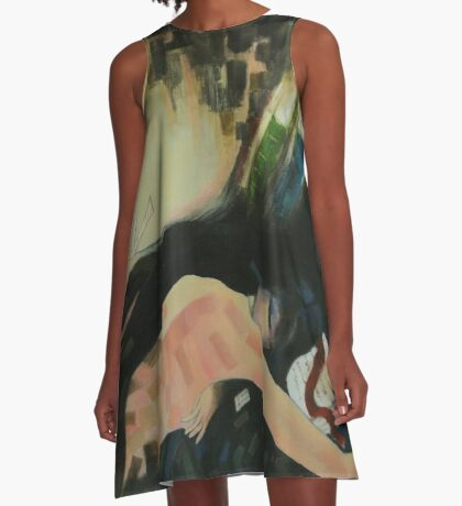 Trade in time .. A-Line Dress