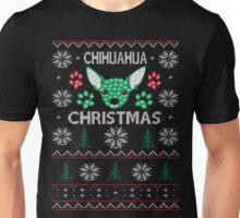Chihuahua ugly christmas sweater xmas Unisex T-Shirt