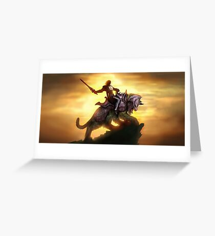 He Man Greeting Card