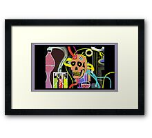 IN THE LAB II Framed Print