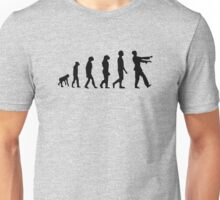 Evolution Of Zombies Funny Unisex T-Shirt