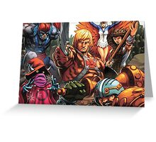 HeMan Team Greeting Card