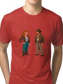 Indiana Jones & Sophia Hapgood Tri-blend T-Shirt