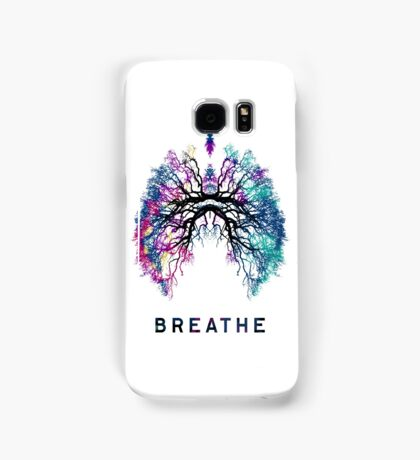 Yoga Breathe Yogis Chakras Clasics Roots Lungs Gift T-Shirt Samsung Galaxy Case/Skin