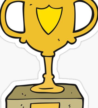 cartoon trophy Sticker