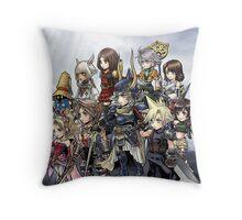 Final Team Throw Pillow