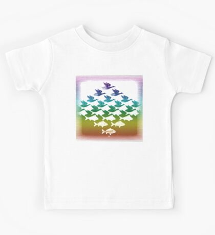 Souvenir from Netherlands:  Escher Kids Tee