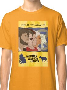 The 'X-Men' Who Stare at Goats Classic T-Shirt
