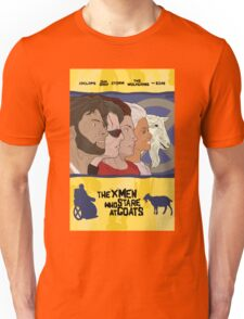 The 'X-Men' Who Stare at Goats Unisex T-Shirt