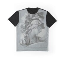 Bust van Minerva, Louis Marin Bonnet, after-François Boucher Graphic T-Shirt
