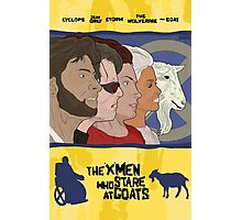 The 'X-Men' Who Stare at Goats Photographic Print