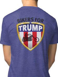 Bikers For Trump - 2016 Tri-blend T-Shirt