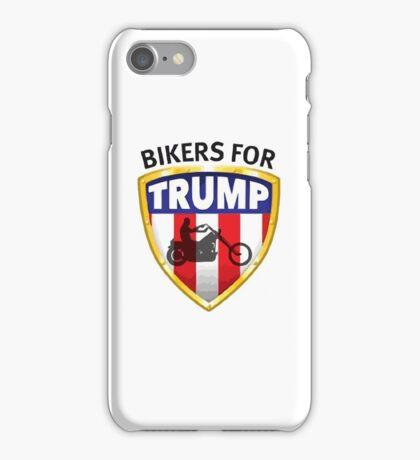 Bikers For Trump - 2016 iPhone Case/Skin