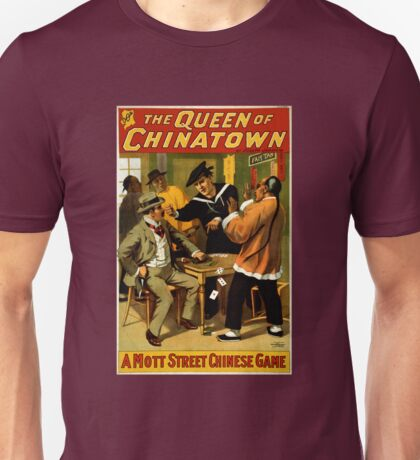 Vintage Queen of Chinatown Broadway Play Unisex T-Shirt