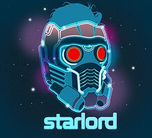 Neon Star Lord Mask by tokkebi