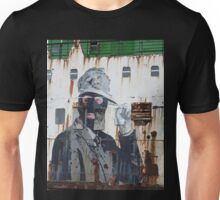 Gangster in a ski mask Criminal Graffiti photograph Unisex T-Shirt