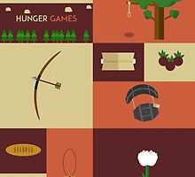The Hunger Games Objects by Ian A.