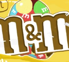 M&Ms Sticker