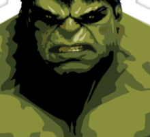 Fan Art - incredible hulk Sticker