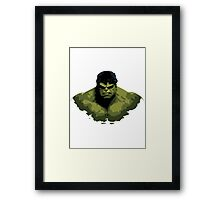Fan Art - incredible hulk Framed Print
