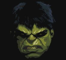 the hulk fan art Kids Clothes