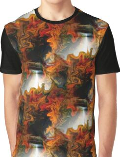 Abstract Light And Colors Graphic T-Shirt